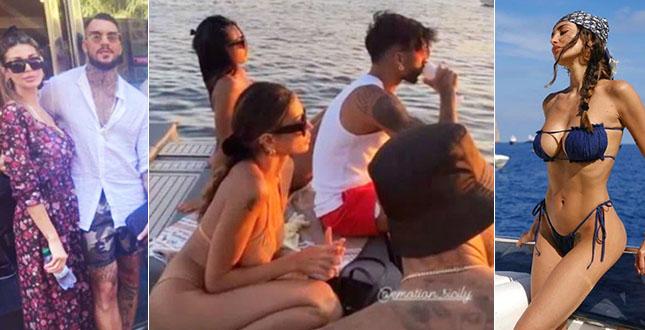 Daniele Scardina e Cristina Buccino, l'amore appena nato è già… esplosivo
