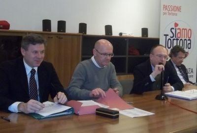 Da sinistra: De Luca, Zanardi, Bonadeo e Promutico
