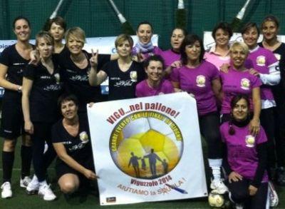 Una squadra formata dalle mamme di Viguzzolo