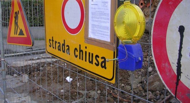 strada chiusa accesso - L