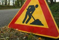 strada chiusa lavori accesso - E