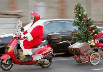 Babbo Natale in moto - Q