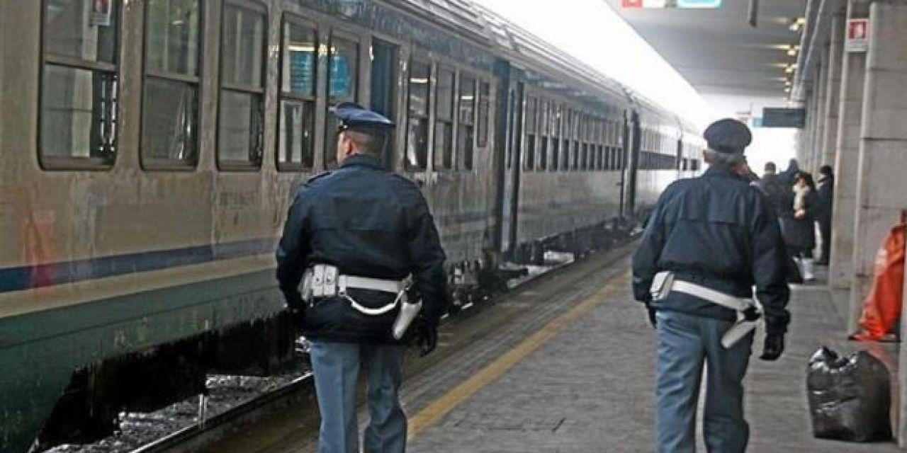 La Polizia ferroviaria di Tortona arresta un  tunisino che stava rubando su un treno