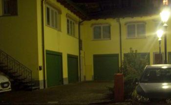 Il luogo dove è stato aggredito il notaio: dietro casa sua