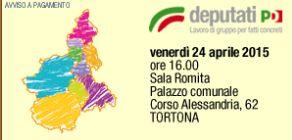 Venerdì a Tortona un importante convegno del Pd per assumere giovani