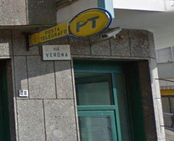 Rapina alle Poste di Alessandria in via Verona, fugge col bottino