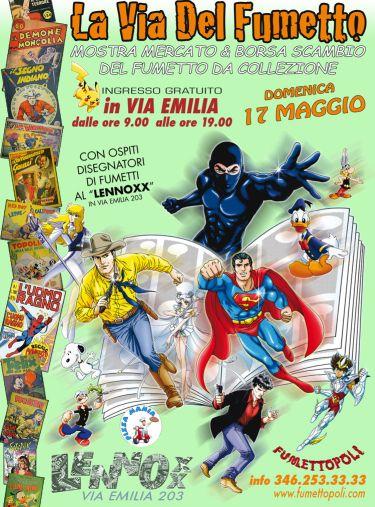 A Tortona la seconda edizione della Via del fumetto