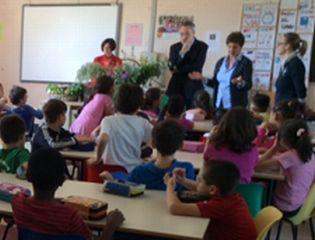 I bambini della De Amicis di Pontecurone hanno incontrato la scrittrice Chiara Parente
