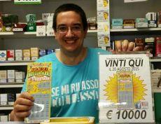 A Gavi un cliente compra un gratta e vinci da 20 euro e ne vince 10 mila