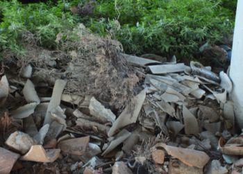 Alla frazione Casteleceriolo di Alessandria una discarica abusiva di amianto