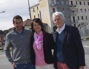 Simone Origone a Novi, un campione tra i campionissimi