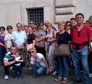 Da Sale in pellegrinaggio a Roma