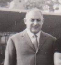 Franco Nicola nel 1968 quando era presidente del Derthona calcio