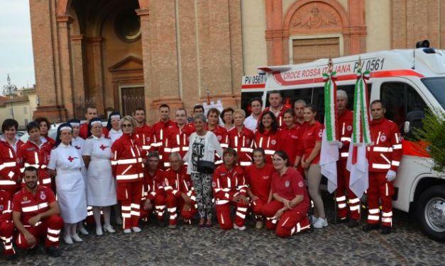 Ciclamini per sostenere la Croce Rossa di Voghera