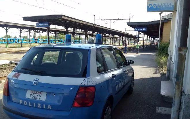 Alla stazione di Tortona la Polfer di Alessandria arresta un pregiudicato di 55 anni