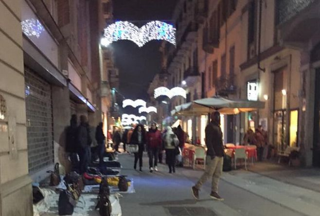 Ad Alessandria le vetrine come strumento per raccontare il senso del Natale