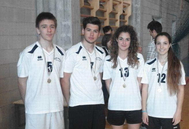 La squadra di badminton dell'Amaldi alla fase nazionale