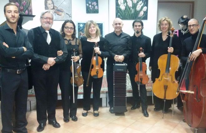 Lunedì a Gavazzana concerto dell' Ensemble Bellowstrings