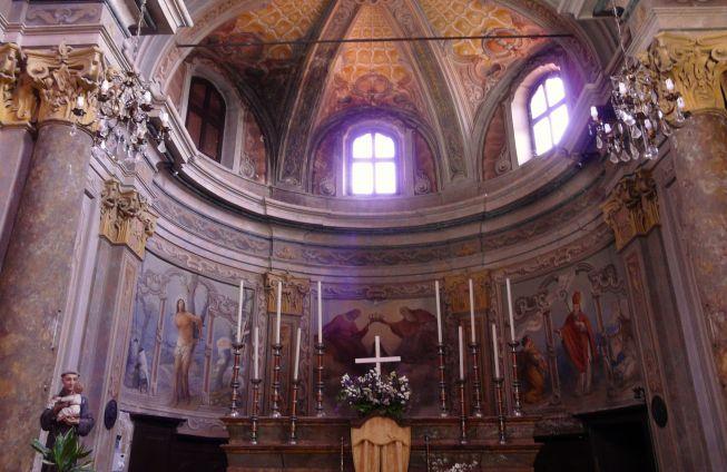 A Pecetto occasione unica per visitare in notturna la chiesa della SS Trinità