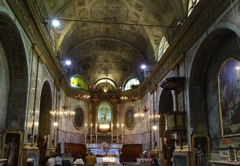 Una serata alla chiesa di San Giacomo della vittoria ad Alessandria