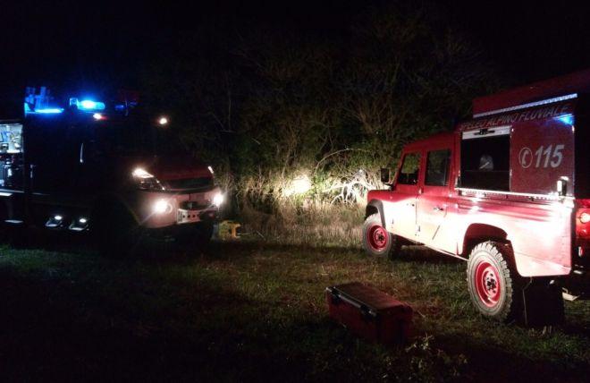 I Vigili del Fuoco di Novi Ligure salvano tre turisti inglesi che si erano persi nel Parco Capanne di Marcarolo