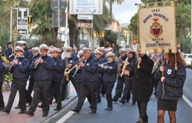 Il Comune di Diano marina approva il calendario delle 13 esibizioni annuali della banda musicale, importante istituzione per la città