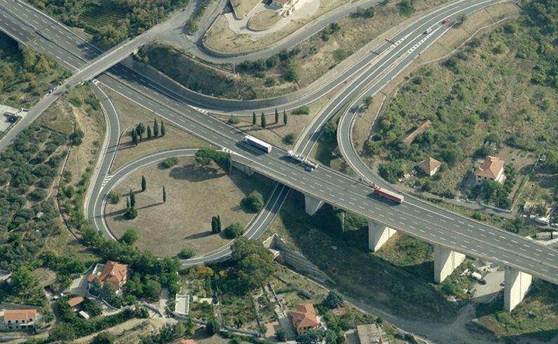 I cantieri sull'Autostrada dei Fiori dal 18 al 24 settembre