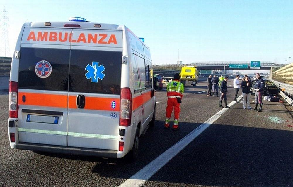 Schianto sull' A/21 fra due camion a Felizzano, autostrada chiusa e un  uomo ferito grave all'ospedale di Alessandria