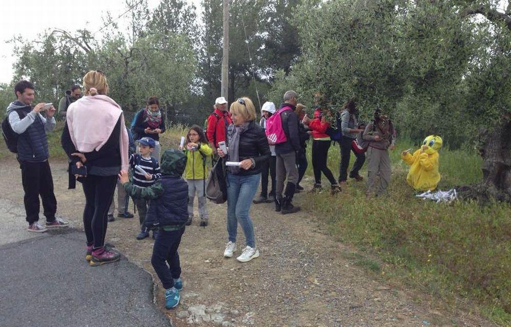 Un successo le tre Magiche Escursioni Itineranti a Diano Castello con circa 150 partecipanti/Le immagini