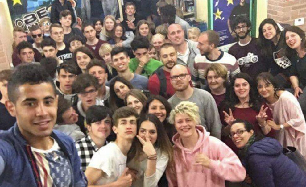 Giovani dalla Danimarca a Tortona per uno scambio di esperienze e idee