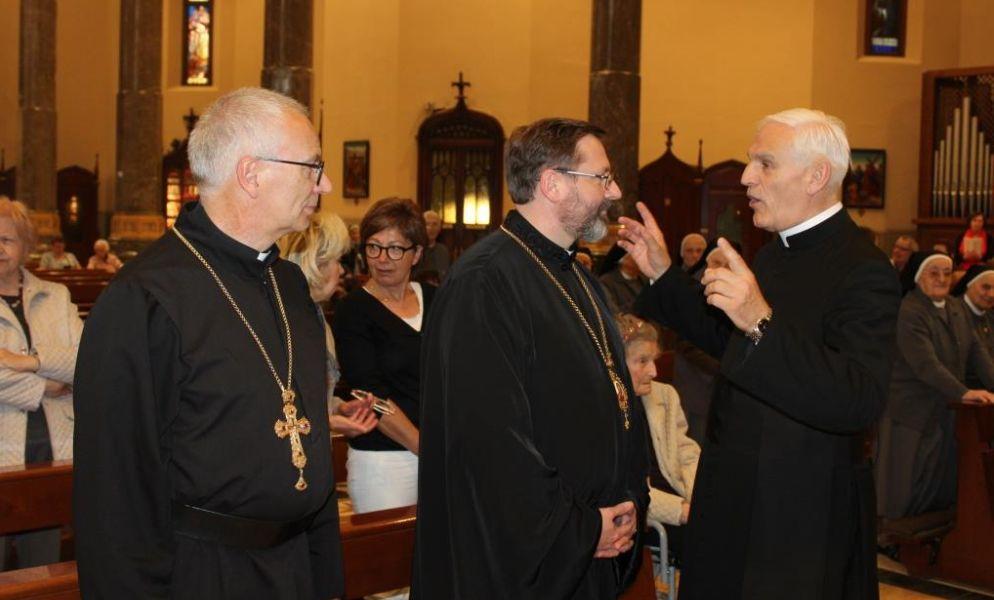 Il Patriarca della Chiesa greco cattolica ucraina in visita a Tortona