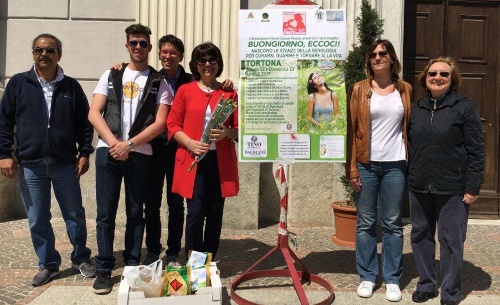 """Anche a Casale Monferrato una raccolta fondi a favore dell'associazione """"Franca Cassola Pasquali"""""""