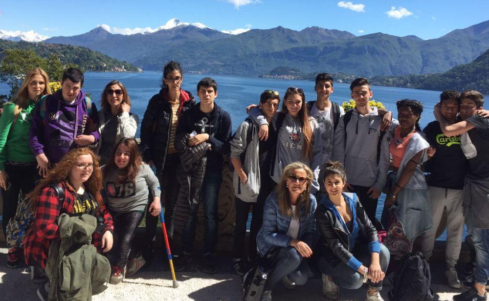 Gli studenti tortonesi del Marconi hanno visitato a Villa del Balbianello a Lenno sul lago di Como