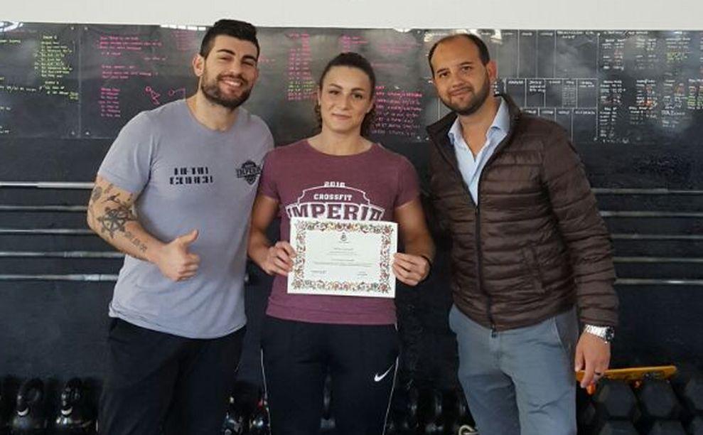 Il Comune di Imperia ha premiato la campionessa nazionale Milena Gianelli