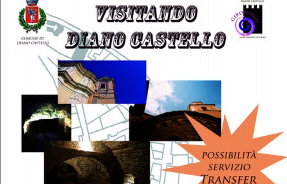 """Da domenica e per tutta l'estate visite guidate a Diano Castello con l'associazione """"Giroborgo"""""""