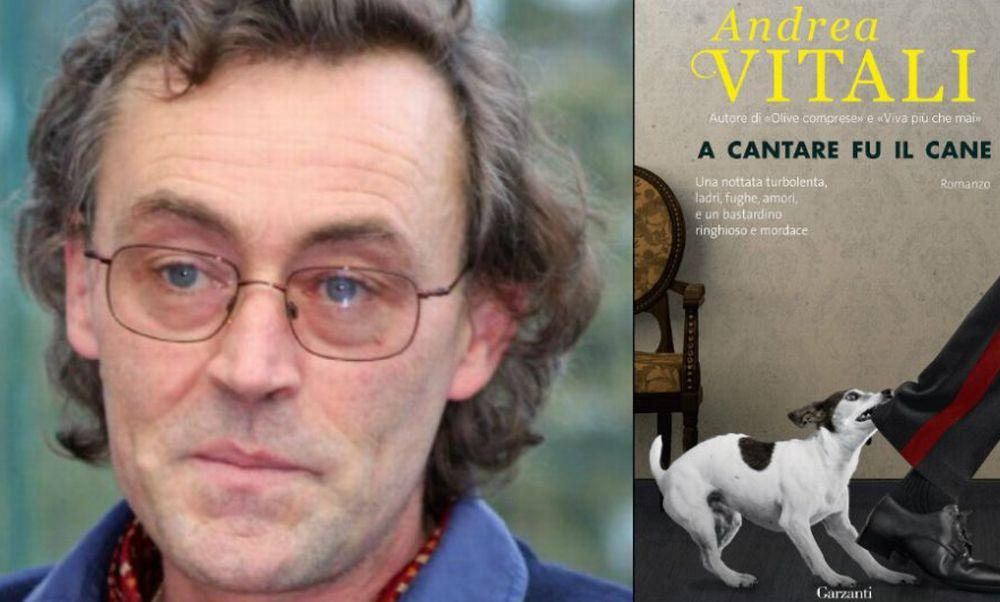 """Martedì a Sanremo Andrea Vitali presenta il libro  """"A cantare fu il cane """""""