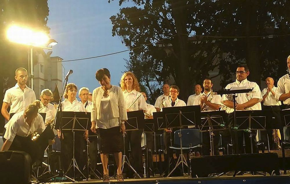 A Villa Scarsella il primo concerto estivo della Banda Musicale Città di Diano Marina