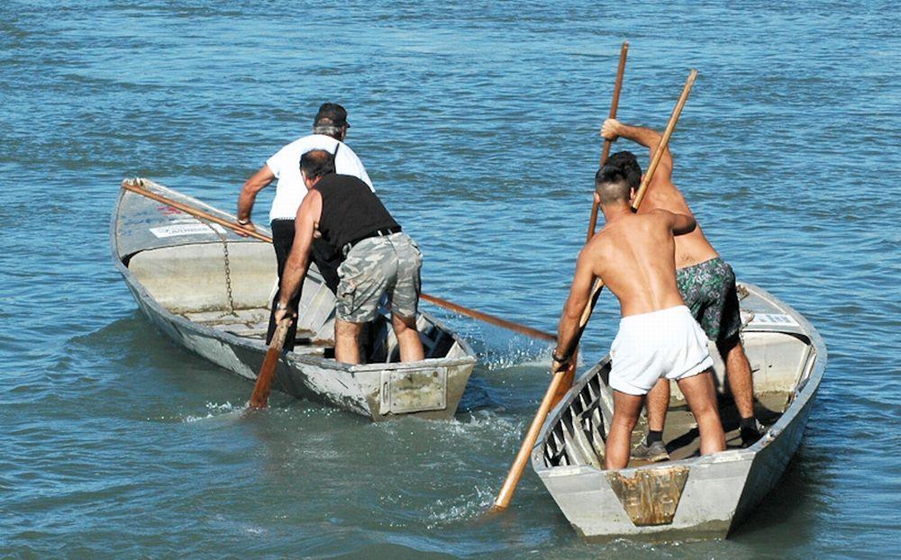Personaggi Alessandrini: Il barcaiolo, mestiere dimenticato