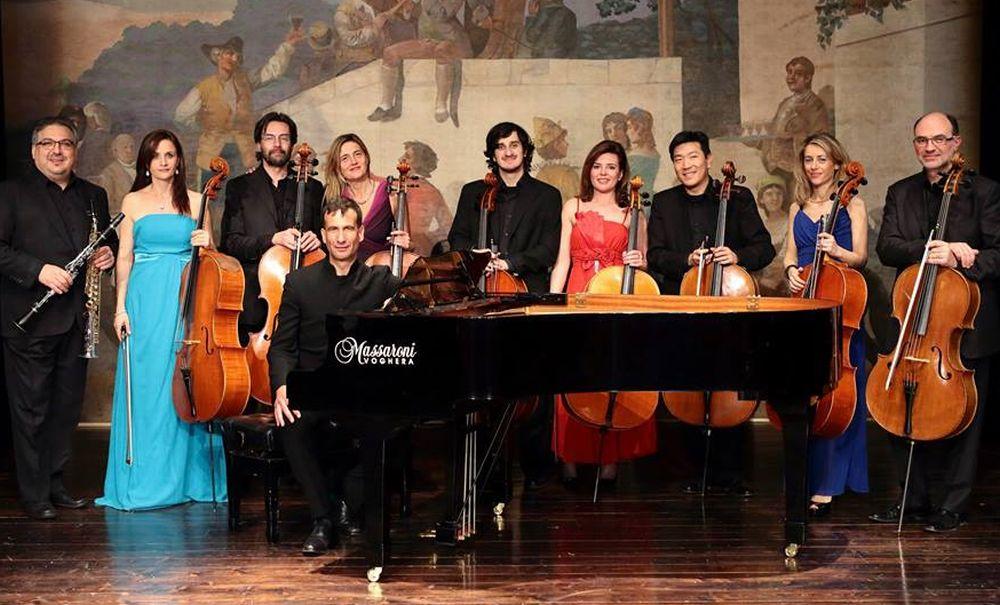Venerdì a Cervo il concerto dell'Ensemble Dodecacellos guidata dal tortoense Andrea Albertini