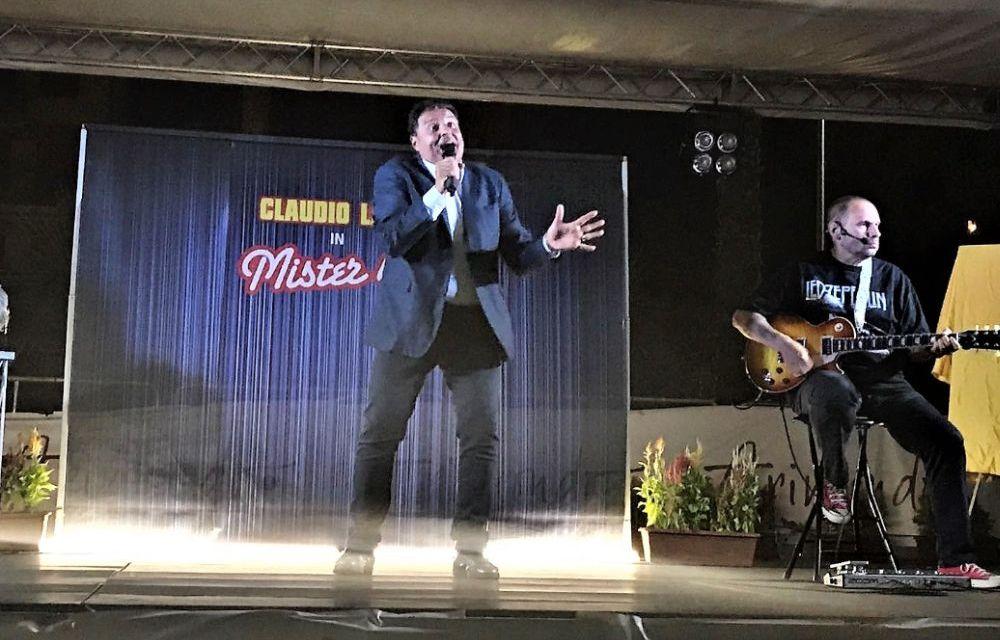 Lunedì a Pozzolo Formigaro lo spettacolo di Claudio Lauretta