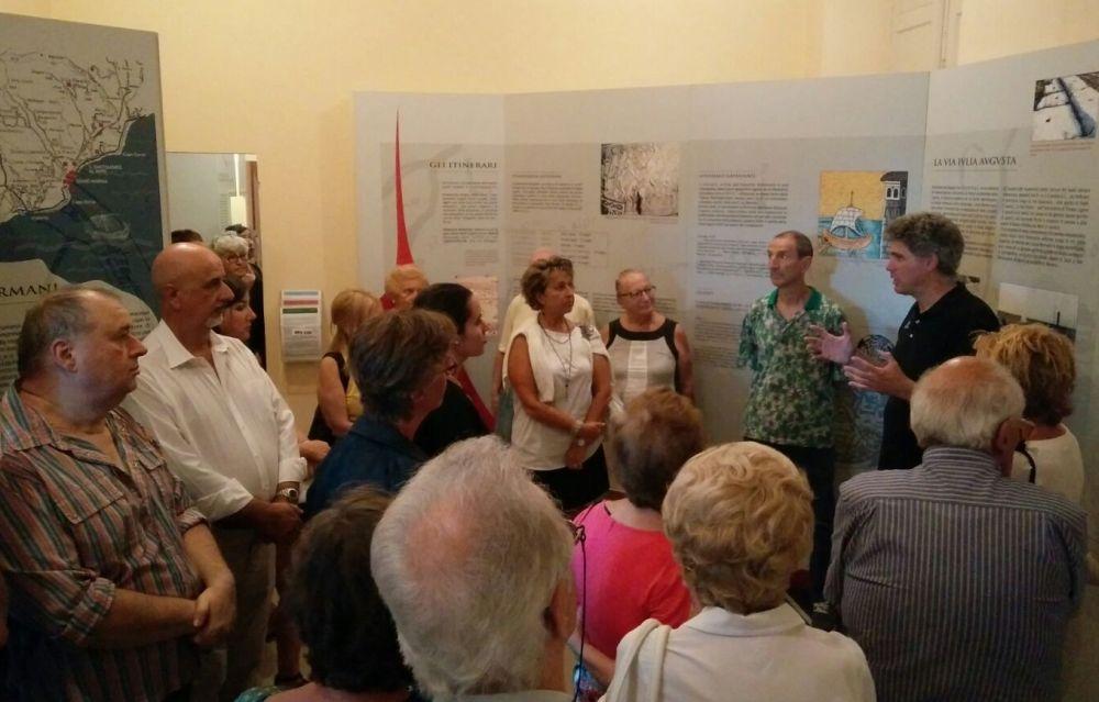 Grande successo di pubblico per le iniziative del museo civico del Lucus Bormani di Diano Marina