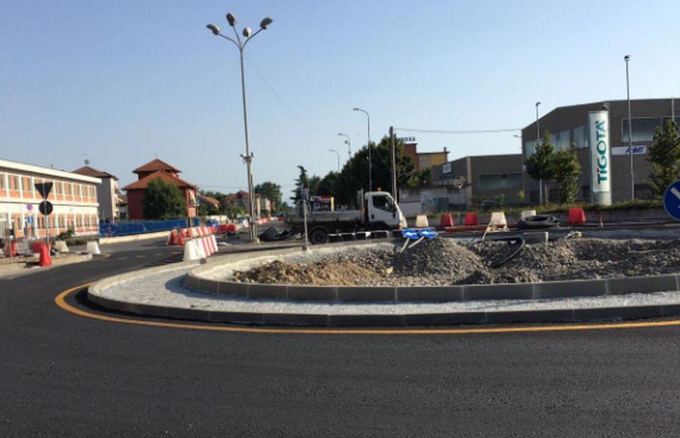 Tortona, lavori quasi conclusi, nel frattempo riaperta la circolazione stradale in corso Don Orione