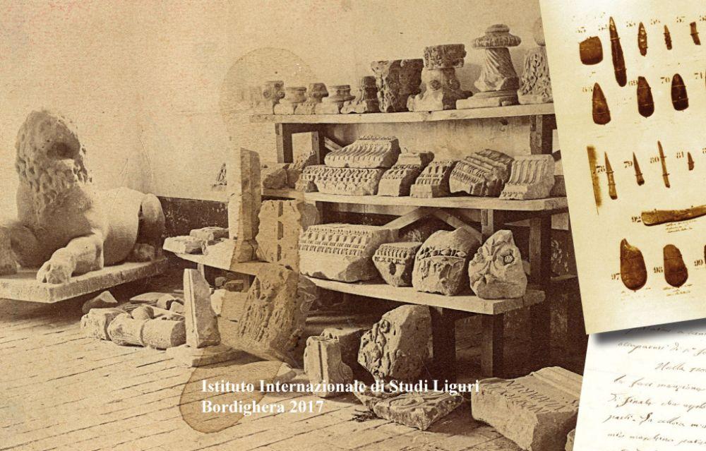 Un libro che parla del collezionismo archeologico a cura del Centro Studi Liguri