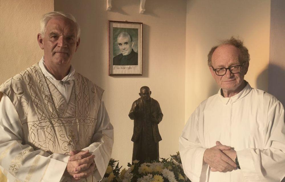 A Lungavilla Benedetta statua di San Luigi Orione