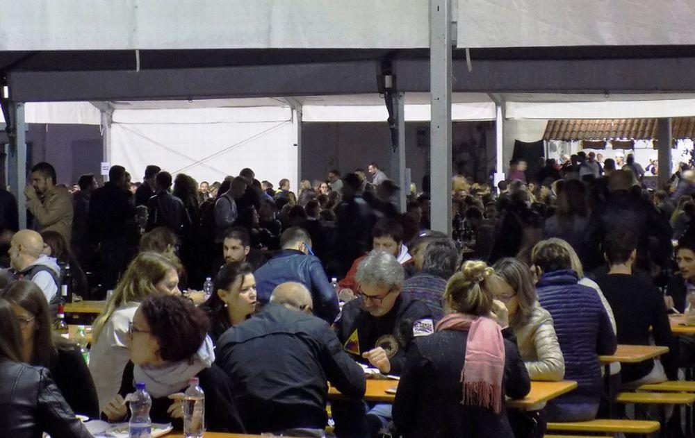 Festa del Vino e del Monferrato  40.000 al Mercato Pavia, 4.000 al Castello