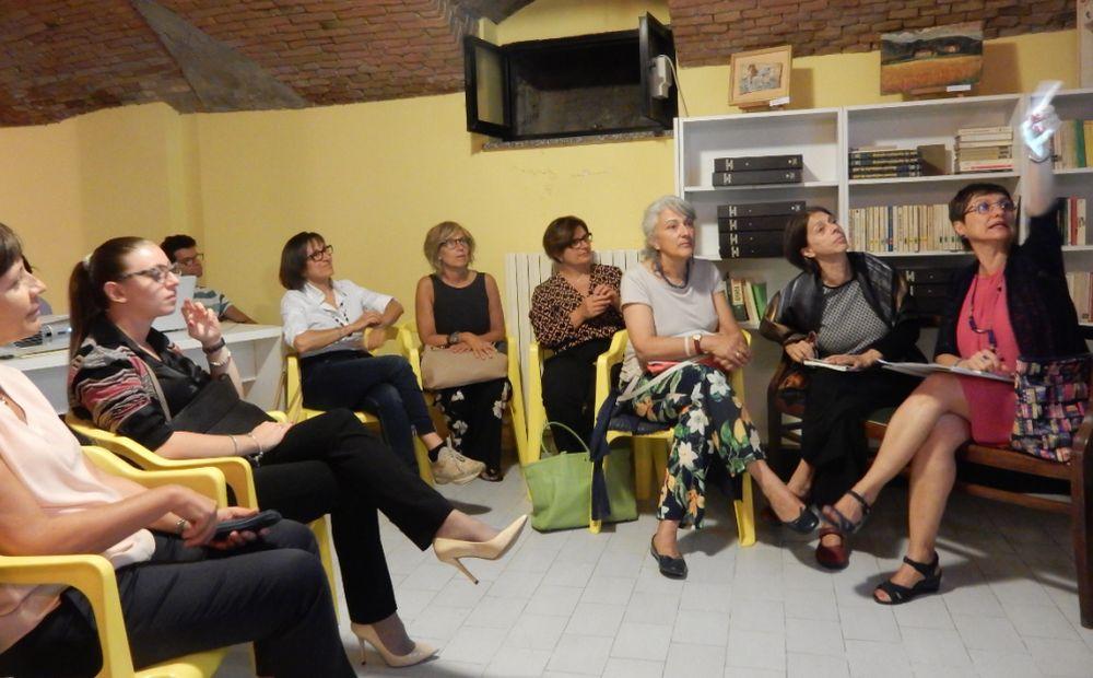Tanta gente a Voghera per la presentazione del libro della tortonese Giovanna Franzin di Pontecurone