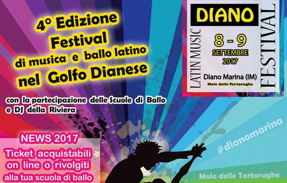 Venerdì e sabato a Diano Marina torna il Latin Music Festival con scuole di ballo e dj da tutta la Riviera