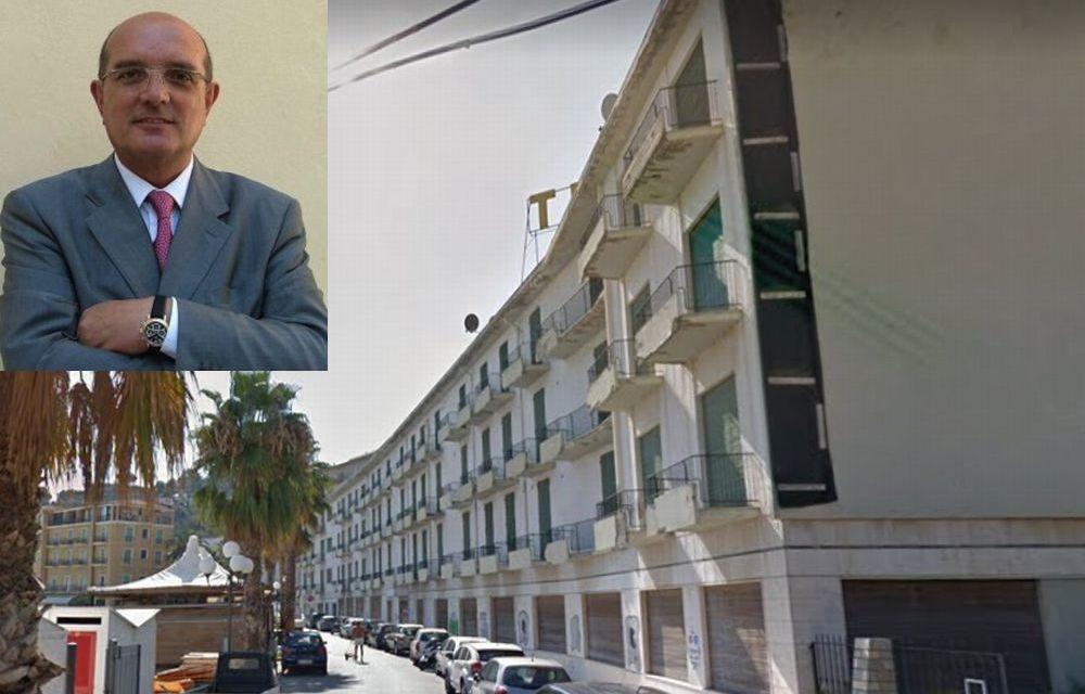 """C'è un acquirente per l'ex hotel """"Teresa"""" di Diano Marina che sarà trasformato in appartamenti e garage. Pilati illustra le possibilità"""