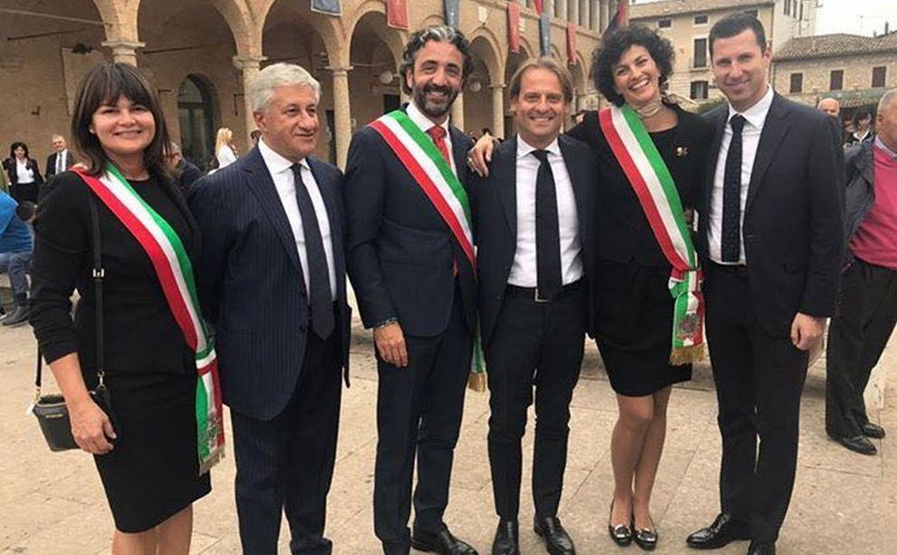 Il Comune di Taggia ad Assisi per la festa di San Francesco