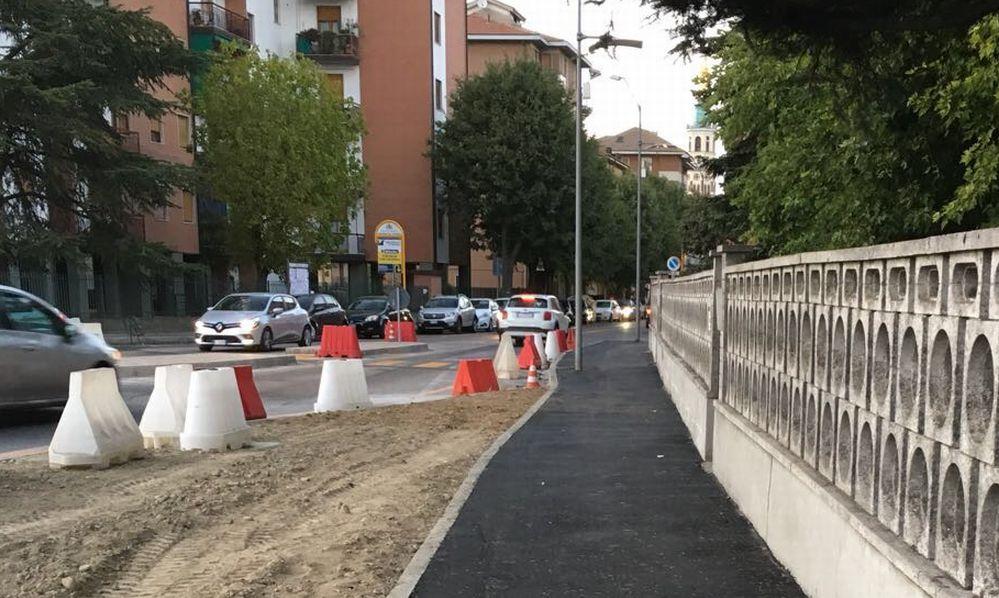 Il Comune di Tortona aggiusta strade e marciapiedi in alcune zone della città